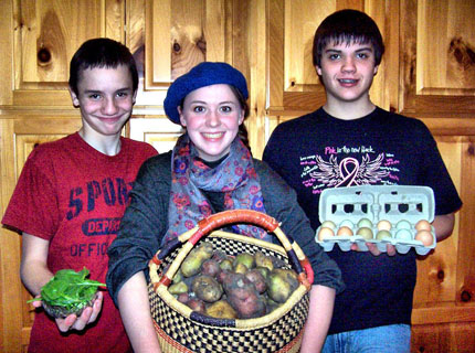 Britton youth start their own garden business