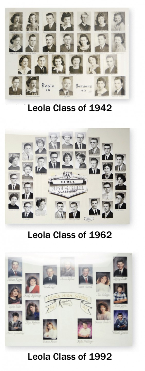 Leola class sizes, over the decades