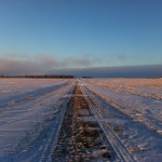 A cold December day in South Dakota.