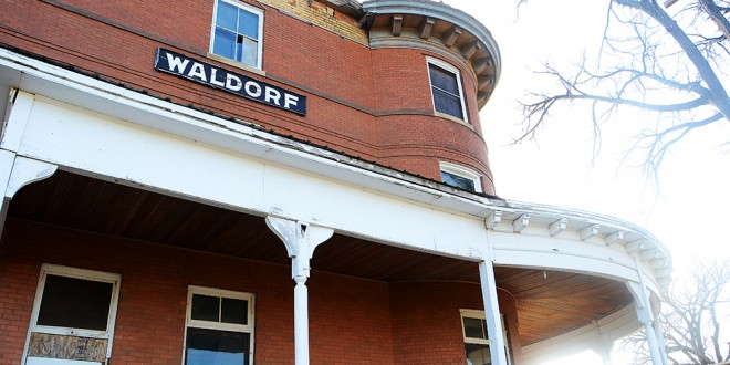 Andover's Waldorf Hotel among many historic places with an uncertain future