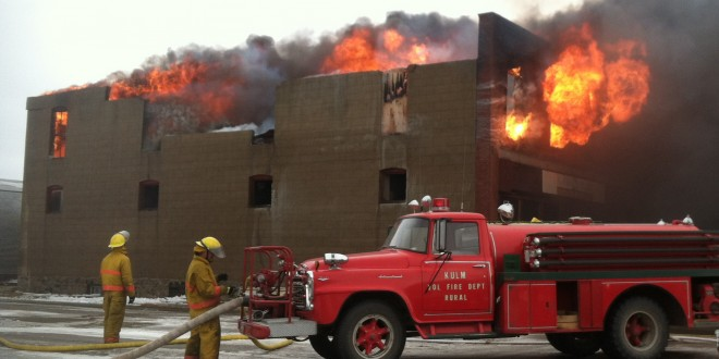 Historic building in Kulm lost to fire