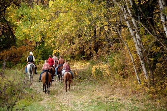 Sheyenne Oakes Horse and RV Camp. Photo from http://www.sheyenneoaks.com