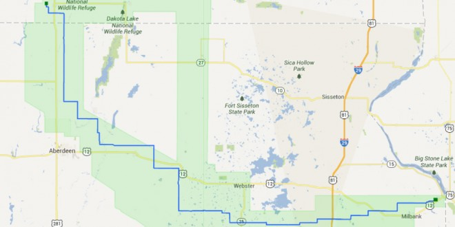 Planners have selected preferred route for BSSE transmission line