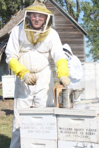 John Miller of Miller Honey Farms says their bee losses over the last five years are unsustainable. Photo by Lindsay Anderson, Tri-County News