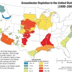 Groundwater depletion in the United States, 1900-2008