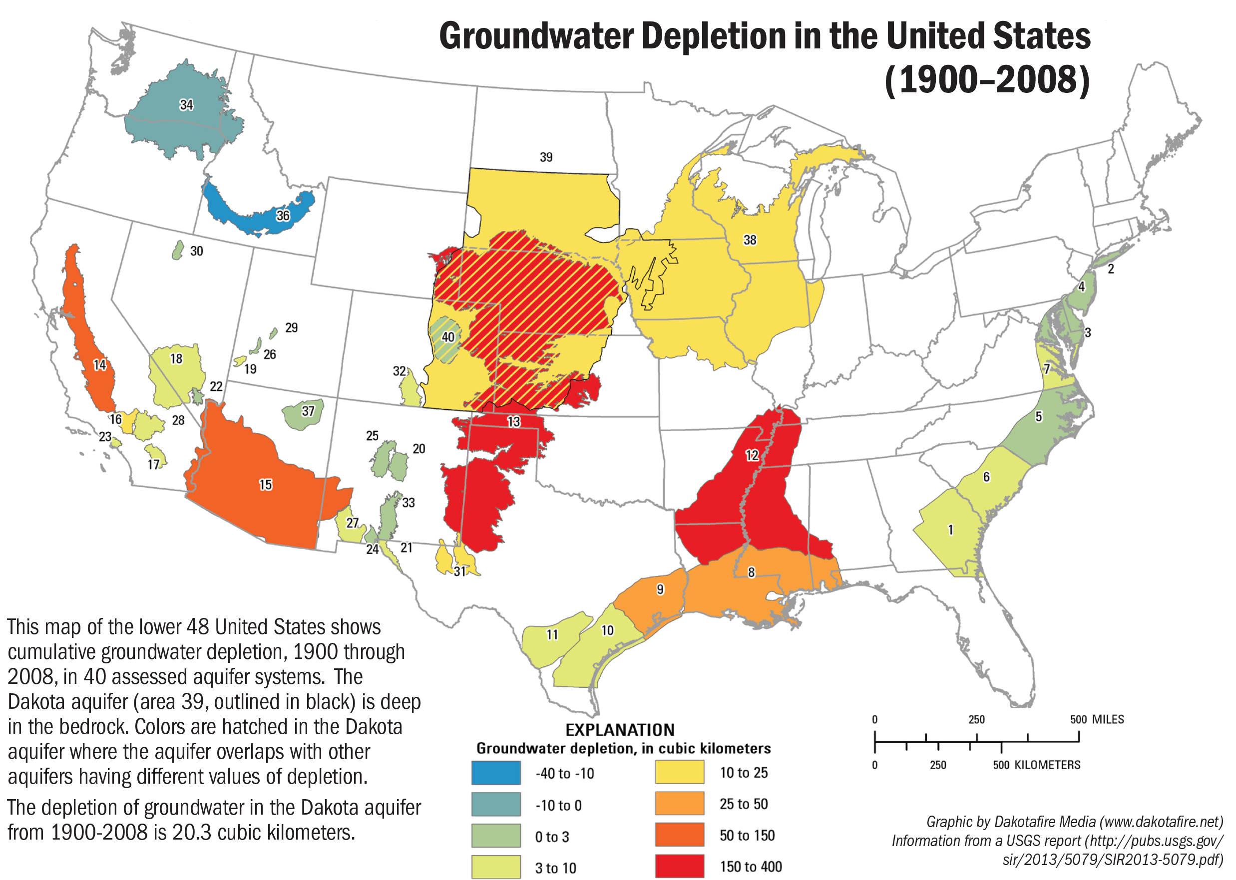 Groundwater Levels Are Down In South Dakota Dakotafire - Us map with south dakota