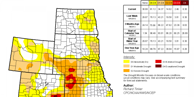 REPORT: Heavy Snow, Rain Help Drought in S.D.