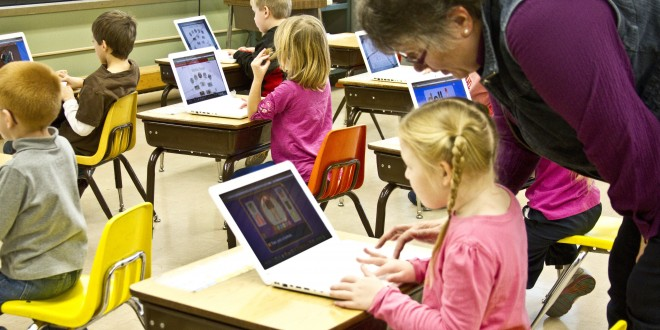 Screens, technology are commonplace in Dakota classrooms