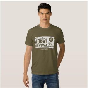"""Sparking Rural Revival"" T-shirt"