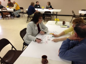 First Dakotafire Café participants dive into commuting topic