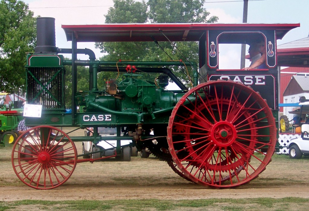 Antique tractor at Madison's Prairie Village