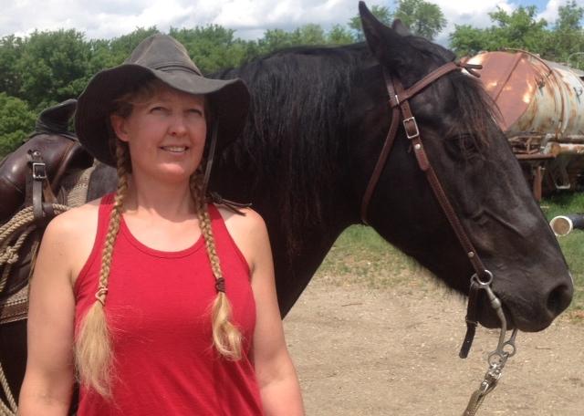 Carrie Knutson of Prairie Diamond Ranch