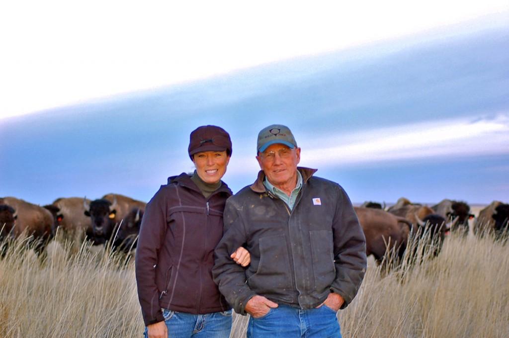 Jill and Dan O'Brien of Wild Idea Buffalo Co.