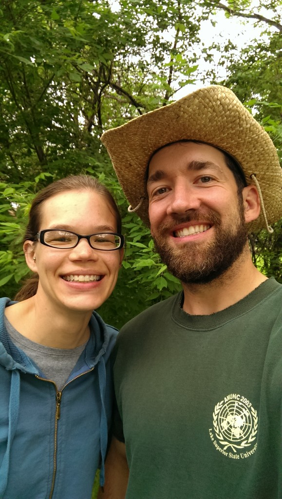 Amber and Ross Lockhart of Heart and Soil Farm