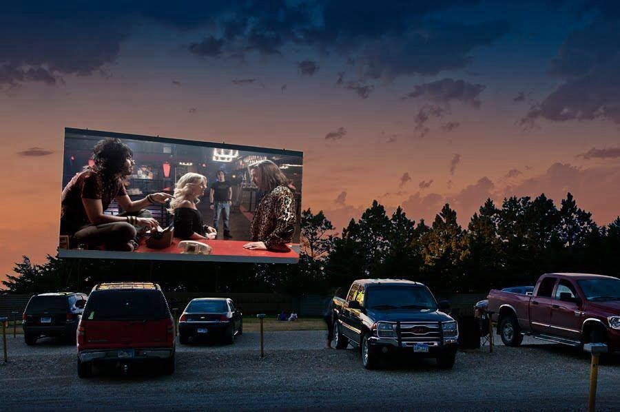 Midway Drive-In Theatre in Miller