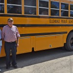 Rita and Calvin Dathe were school bus drivers for the Ellendale (N.D.) Public School District from the early 1970s until Calvin retired this year. Photo by Ken Schmierer