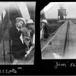 Nina Wieste photograph, Ludden, N.D., 1917