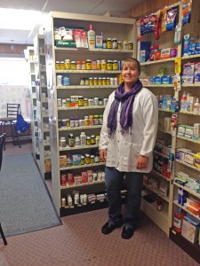 Pharmacist Lane Nelson values the personal interactions she has with her customers. Photo by Sarah Gackle