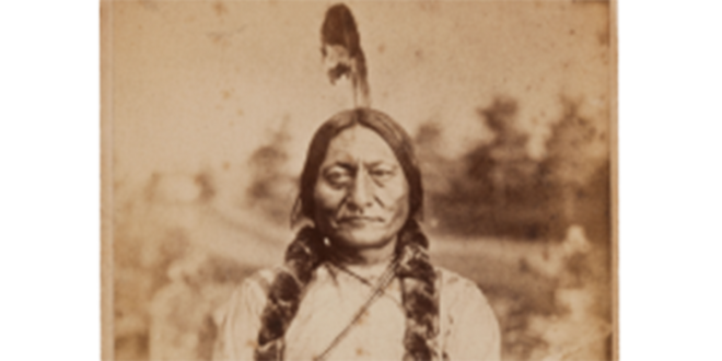 Postcard: The image of Sitting Bull