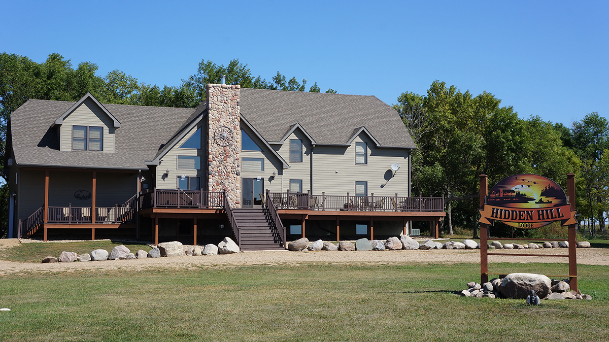 Hidden Hill Lodge near Roslyn, S.D., serves as a getaway from busier places.