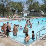 Officials in Kulm, N.D., were worried that they wouldn't be able to find enough workers for the community pool, but they were pleased to get many new applicants. Photo by Sara Gackle