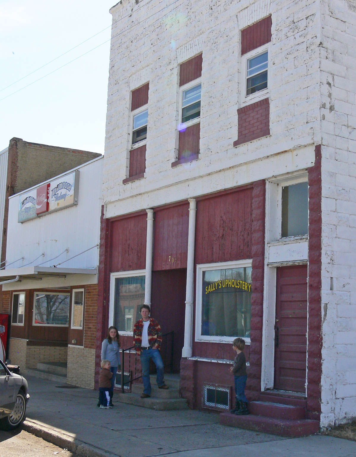 The Petrovic family purchased this building and plans to turn it into a food processing facility. Contributed photo