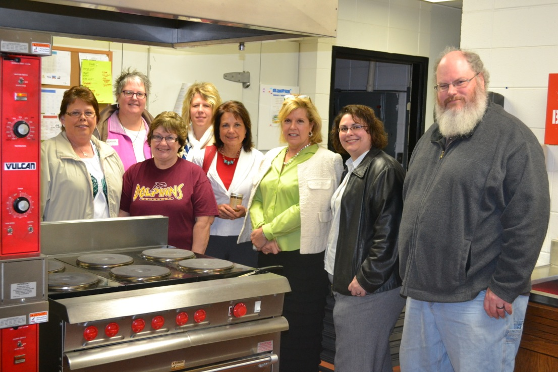 Last year, Lillian Salerno from the U.S. Department of Agriculture's Rural Business Development in Washington., D.C., toured the Community kitchen in Deuel County in hopes of using it as a model in other communities. Photos courtesy Deuel Area Development, Inc.