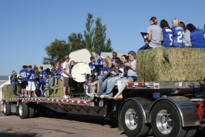 The community of Ethan, S.D., is redefining homecoming this year, without its popular parade, tailgate party and afternoon football game. Increased enrollment bumped the Bridgewater-Emery/Ethan Seahawks from the state nine-man football roster to 11-man play this year, meaning Ethan's 80-yard football field can only be used for practice.