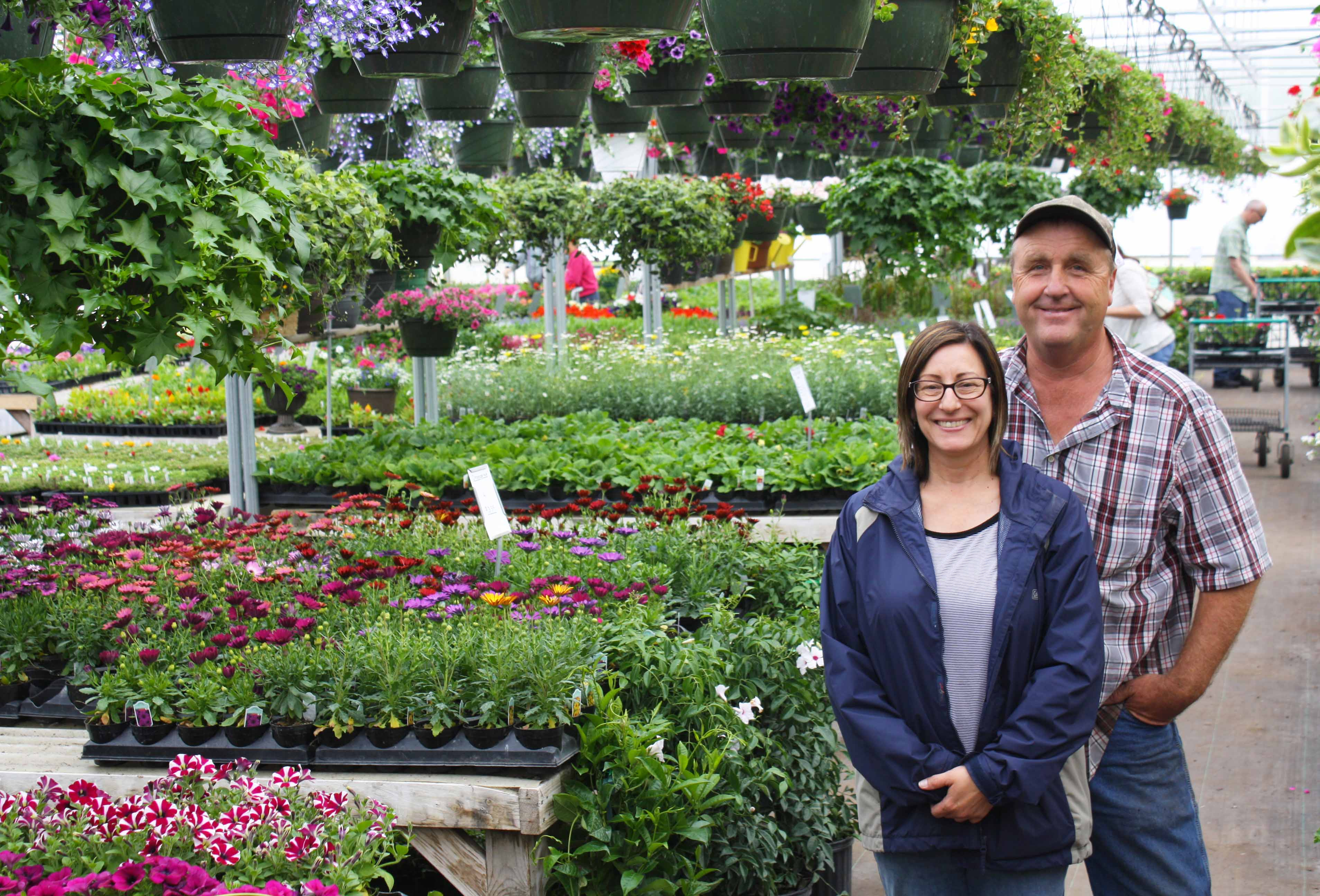 Brenda and Jim Johnston, owners of Harvest Gardens,  said they set down roots quickly in Ellendale, N.D.