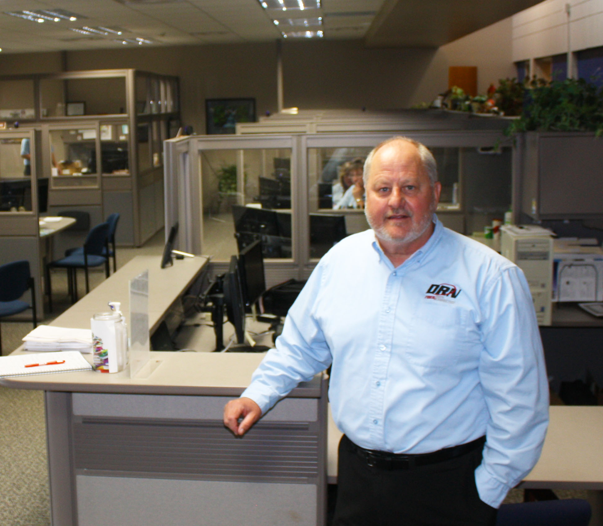Bob Johnson credits Dickey Rural Network with keeping Ellendale connected to the rest of the world.