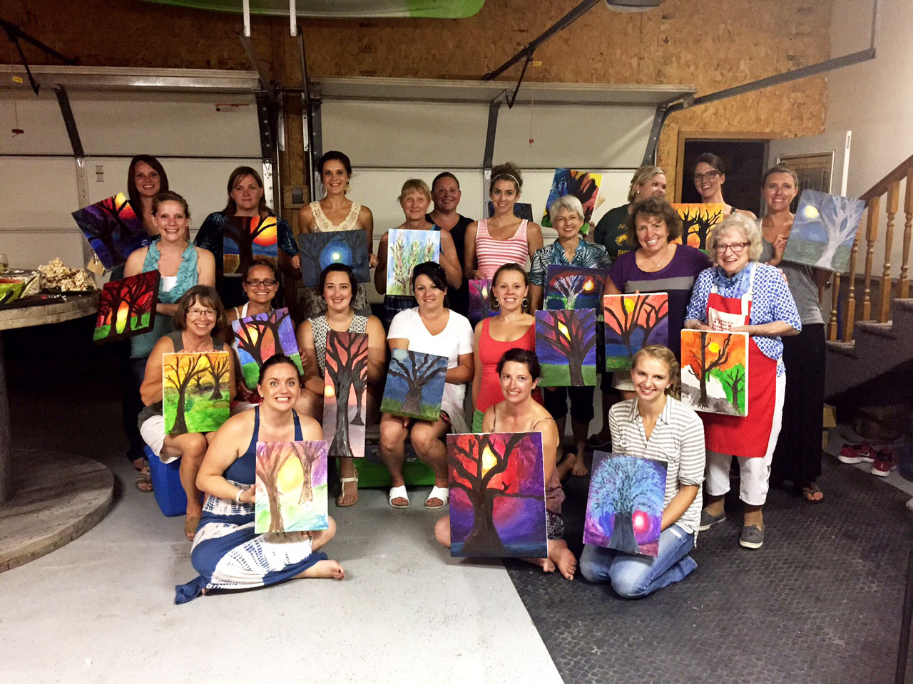 JEBERLECO sponsors a variety of arts and culture activities in and around Ellendale including painting  classes.
