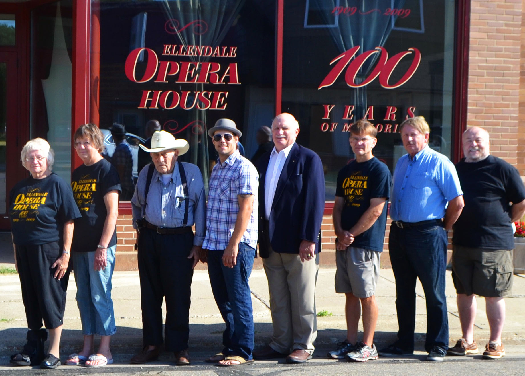 Members of OPERA, Inc., have overseen nearly $275,000 in renovations to the historic Opera House since 2002.