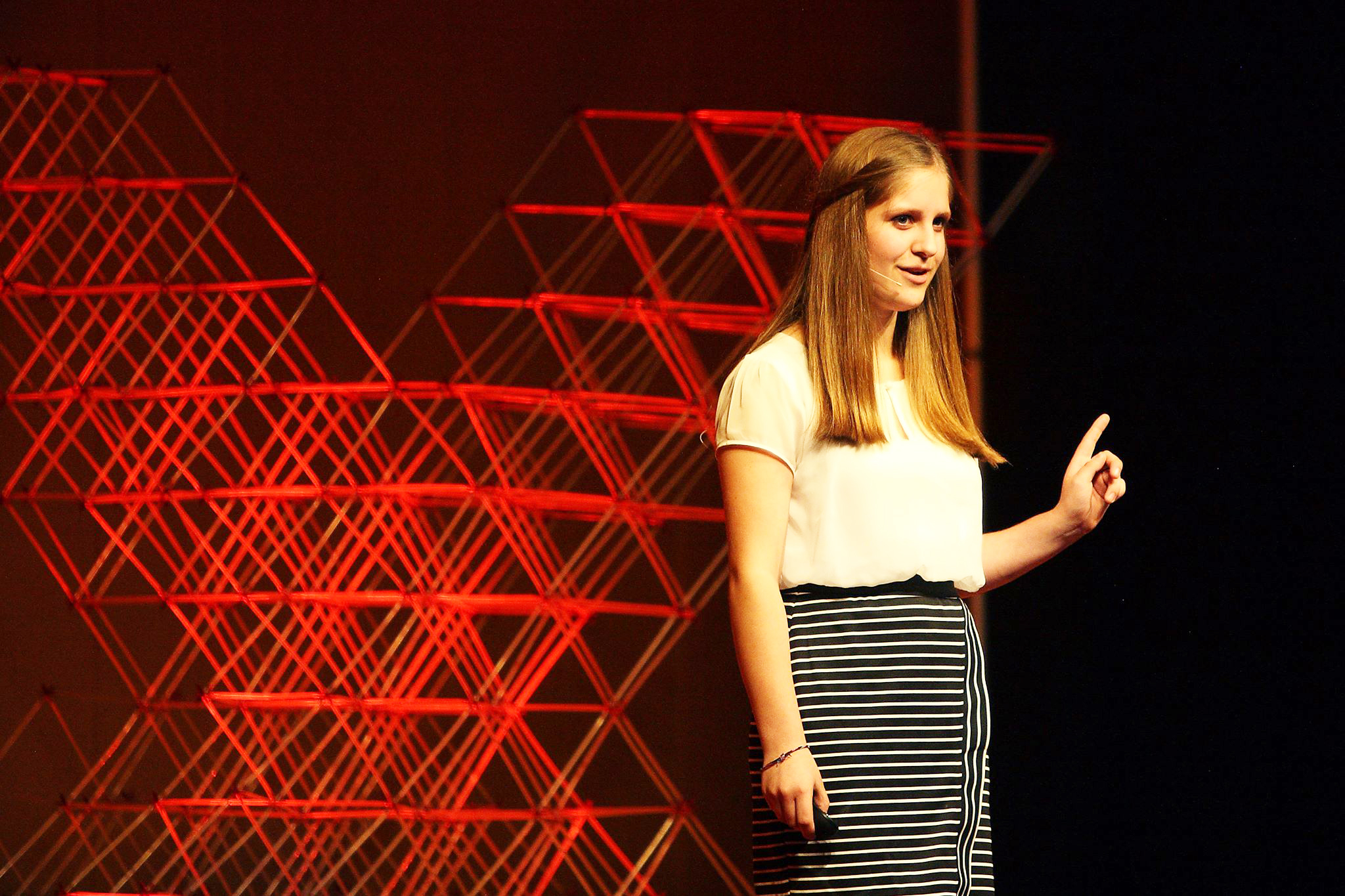 Hattie Seten at TEDxBrookings on Oct. 1. Photo courtesy TEDxBrookings