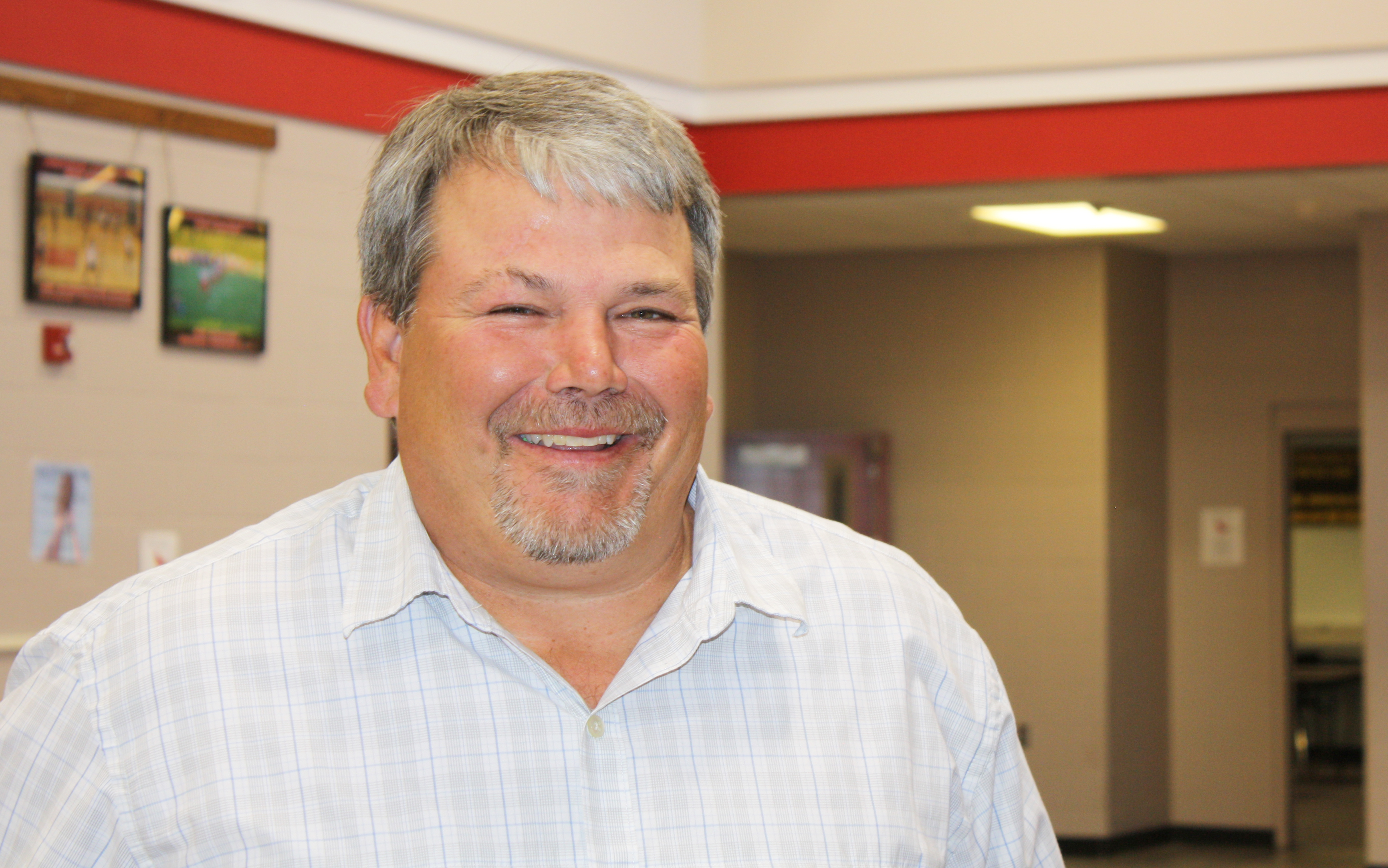 Superintendent Chris Lund says the Arlington School District has had to become creative in how it handles declining enrollment.  Photo by Wendy Royston
