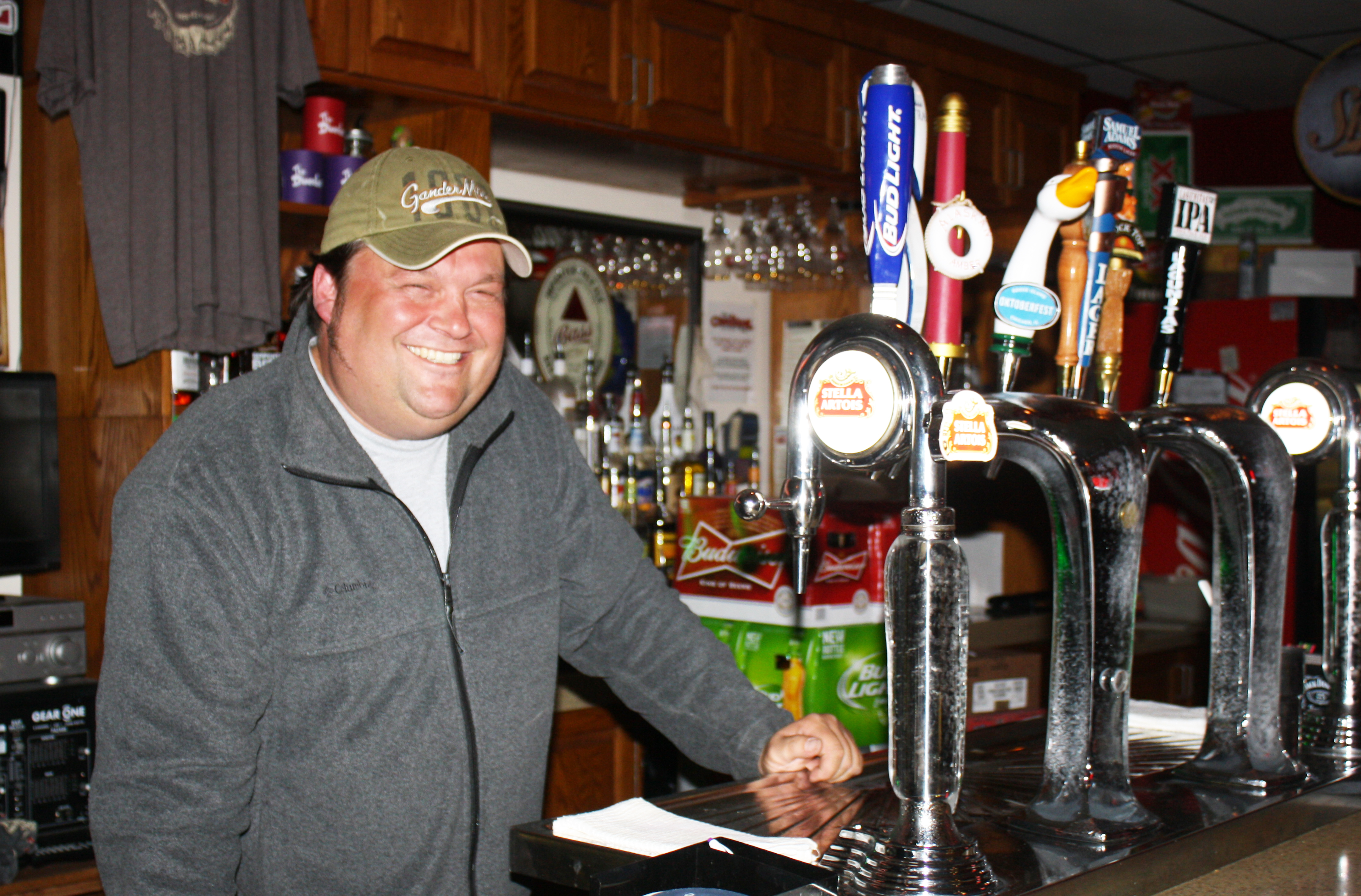 Cardinal Tap owner Karl Stegge says the secret to business success in a small town is adapting to the community's needs. Photo by Wendy Royston