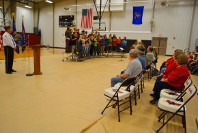 Communities mark Veterans Day with retirement ceremonies for Old Glory