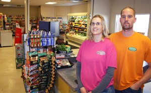 Natalie and Jeff Briggs, along with Jeff's family, purchased the White Lake and Stickney grocery stores to prevent the community from losing its grocery store, in an effort to enhance their initial store, in Plankinton, and the region.