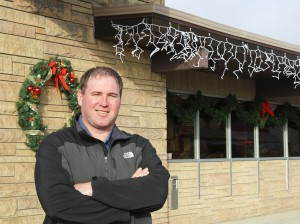 Scott Clites said he is fortunate to have found a banking job in his wife's hometown, because professional jobs tend to be limited in small towns, but rural life always was the dream he held for raising his family.