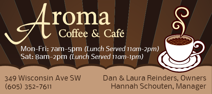 Aroma Coffee And Cafe Huron Sd