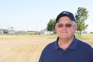 Retired teacher and former business owner Jim Ellenson, who is active with the Chamber and 4-H Leaders Association, says Redfield is the perfect-sized town to raise a family. Photo by Wendy Royston/Dakotafire Media