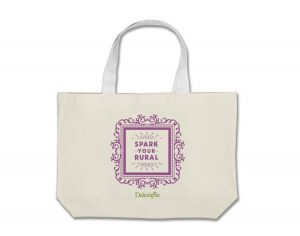 """Spark your rural"" tote bag"