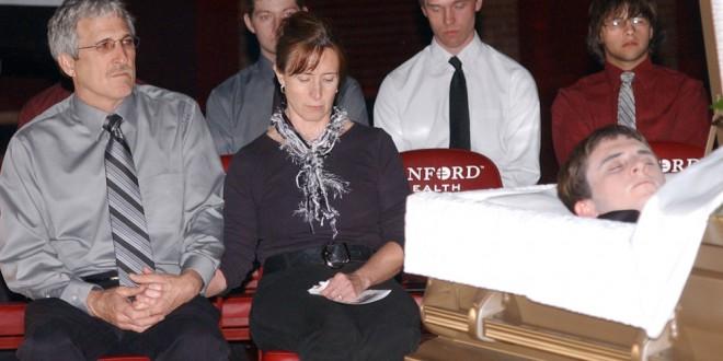 Webster docudrama 6 – funeral