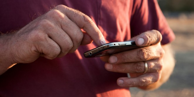 Cell phones, and increasingly smart phones, are a part of rural life