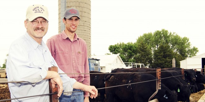 Cattle genetics and good care of the land are Koprivas' strategies for success