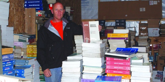 Webster man creates full-time business selling car publications online
