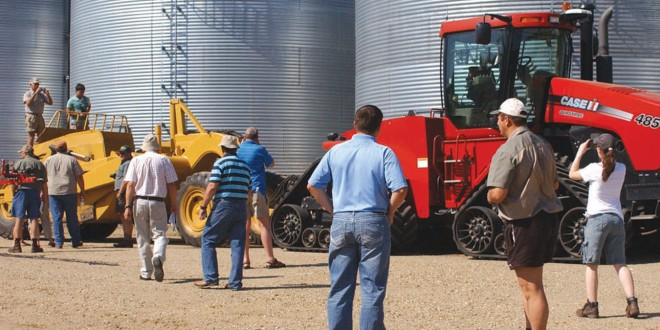 South African producer group tours Webster farm, compares farming practices