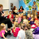 South Dakota First Lady Linda Daugaard read to children at Britton's Library on Oct. 3, when Britton was Capital for a Day. Photo by Britton Journal