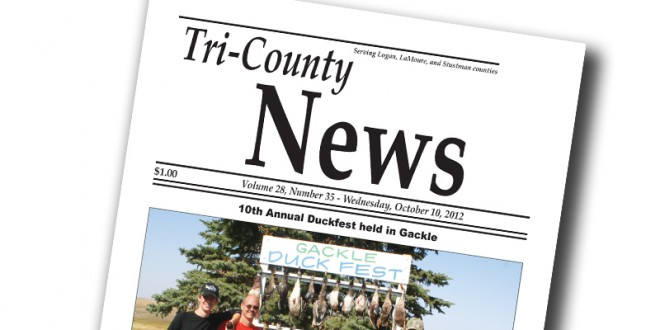 Meet a Dakotafire Newspaper /// Tri-County News, Gackle, N.D.