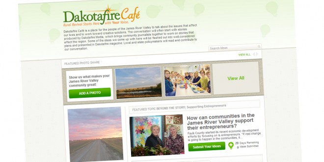 Dakotafire Café: A new gathering place for good ideas (launching today!)