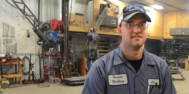 Faulkton entrepreneur: Chad Homan, Homan Welding